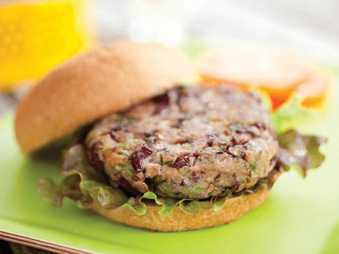 Beanie Burger sally samp
