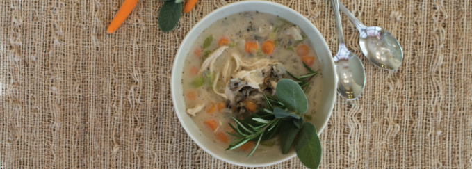 Old Fashion Chicken Soup