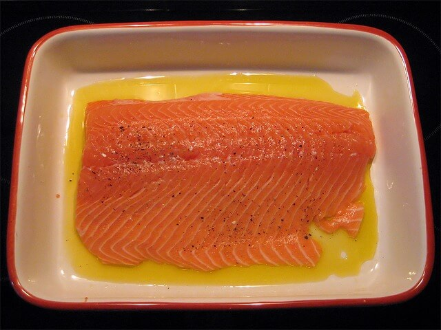 5 foods natural hair loss salmon