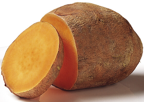 5 foods natural hair loss sweet potato