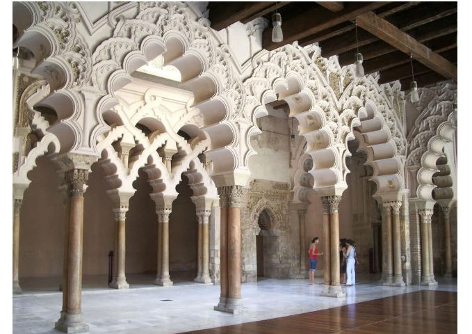 zaragoza spain islamic details